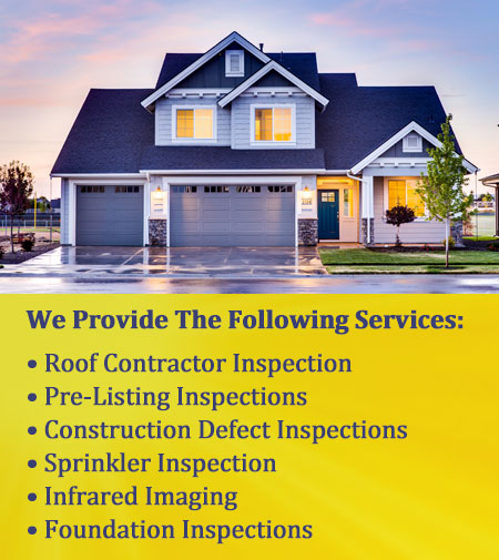 bakersfield home inspection services